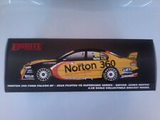 1.18 Biante  James Moffat 2010 Norton 360 Ford Falcon  BF #99