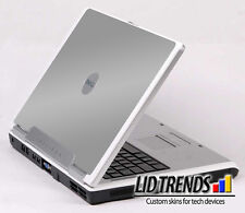 SILVER GRAY Vinyl Lid Skin Cover Decal fits Dell Inspiron 6000 Laptop