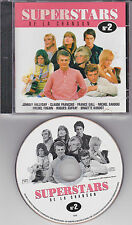 CD PICTURE SUPERSTARS 60' s 15T HALLYDAY/CLAUDE FRANCOIS/GALL/VILARD/AUFRAY/DANE