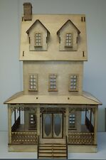 Abriana Large Country Cottage 1:12 Scale Dollhouse
