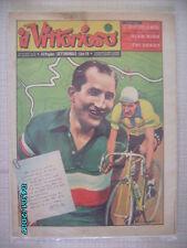 IL VITTORIOSO CICLISMO 1955 GINO BARTALI CON LETTERA AUTOGRAFA