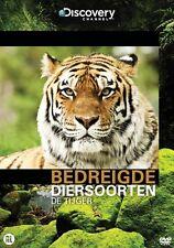 Bedreigde Diersoorten - De Tijger  ( Discovery Chanel ) Nieuwe  dvd in seal.