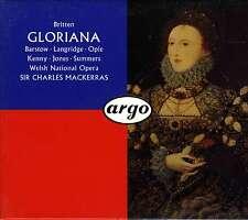 BRITTEN  gloriana  MACKERRAS / BOITIER DOUBLE CD + LIBRETTO