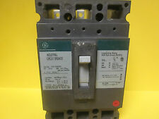 * GENERAL ELECTRIC 30 AMP 3 POLE TYPE TED  TED134030V  CIRCUIT BREAKER WJ-60