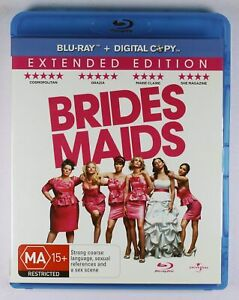 Bridesmaids Blu Ray Extended Edition FREE POST