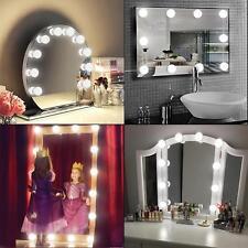 12 LED Bulbs Vanity Mirror Light Kit for Makeup Dressing Table Retro Hollywood
