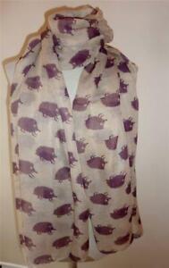 Cute HEDGEHOG Print Fashion Scarf/ Large Wrap Scarf