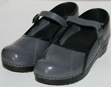"WOMEN SHOES ""SANITA"" CLOGS Size  EU 37 US 6.5M GRAY NEW"