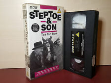 Steptoe and Son - Tea For Two + 2 Other Episodes - PAL VHS Video Tape - (H43)