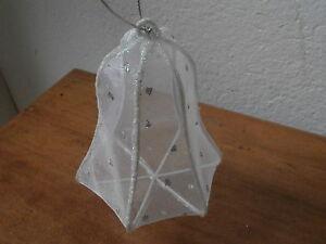 Palla decorazione albero Natale CAMPANA artigianale Christmas star ball