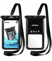 2X MPOW For Samsung Galaxy Note 8 iPhone Waterproof Case Floating Dry Bag Pouch