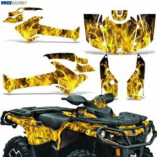Graphic Kit Can-Am Outlander SST G2 XT 500/650/800R/1000 Decal Wrap 12-16 ICE Y