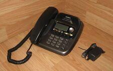 Uniden (TRU9488) Gray 5.8 GHz Single Line Corded Phone System w/ Power Supply