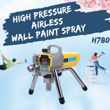 H780 220V 50Hz Alta Pressione Airless Wall Paint Pistola a spruzzor Macchina