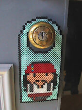 Jack Sparrow Weeble Perler Bead Door Hanger