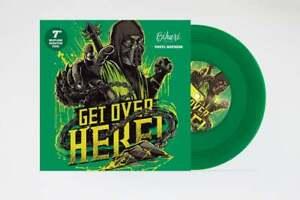 "Bihari Designs Get Over Here 7"" Scratch Record  Skipless Samples Green Vinyl"