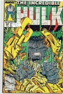 THE INCREDIBLE HULK #343 - Beyond Redemption - (1988) - Back Issue