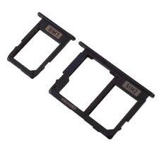 Micro SD/SIM Tray pour Samsung Galaxy j7 2017/sm-j730 cartes-Support-Noir