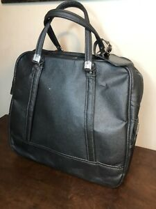 Vintage American Tourister Soft Carry On Luggage Overnight Bag Metallic Gray