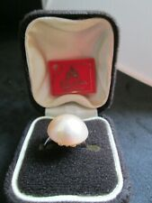Genuine Majorca Pearl Ring