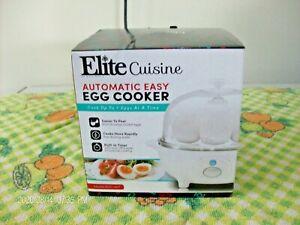 Maxi-Matic Elite Cuisine EGC-007 Easy Electric  Egg Boiler Cooker with Auto Shut