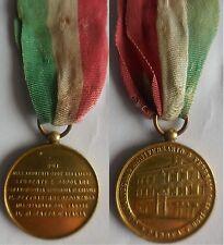 medaglia 50° anniv. sollevazione di Padova 1848 per indipendenza risorgimento