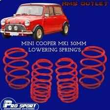 ProSport 30mm Lowering Springs for MINI Cooper Mk1 Lifetime Warranty 120805