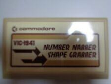 COMMODORE VC-20 / VIC-20 --> NUMBER NABBER - SHAPE GRABBER (VIC-1941)/ CARTRIDGE