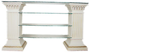 Design Display Case Shelf Glass Columns Wardrobe Cabinets Living Room 1848