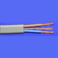 10MM TWIN AND EARTH 6242Y PVC GREY CABLE SHOWER, COOKER CABLE, PER METRE
