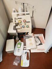 TOYOTA 3 & 4 Thread Overlock 6600 Sewing Machine & accessories & manual