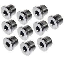 For BMW E60 E63 E64 F06 F07 F10 F12 F13 Set of 10 Oil Drain Plug M18 1.50 Dorman