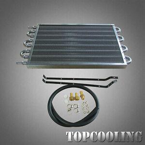 8 Row Transmission Oil Cooler Manual-Auto Radiator Converter Kits Universal