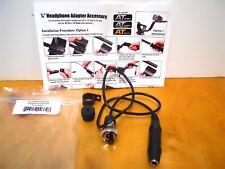New listing Garrett At Pro and At Gold Headphone Adapter Kit Metal Detector