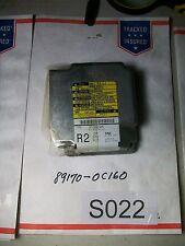 2005 TOYOTA TUNDRA AIR BAG CONTROL MODULE RESET Pt#  89170-0C160  OEM #S022