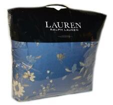 Ralph Lauren Josephina Bali Blue Cream Floral 3Pc King Comforter Set Nwt