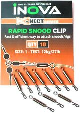 Inova Rapid Snood Clip Size 1 / Sea Fishing Terminal Tackle