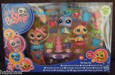LITTLEST PET SHOP✿ KÄFER 1918 KATZE CAT 1919 HASE 1920 ✿TEESTUNDE ✿NEU OVP RAR