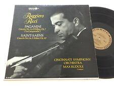 RUGGIERO RICCI Max Rudolf Paganini Saint-Saens Deccca Violin Concerto DL 10106
