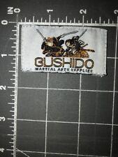 Bushido Martial Arts Supplies Patch Tag Uniform Equipment Karate Kung Fu Shoes