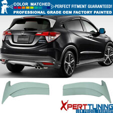 Fit 16-18 Honda HRV OE MU Factory MUGEN Sport Painted ABS Roof Spoiler Wing