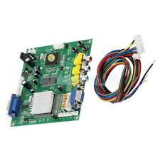 Cga Ega Rgb To Vga Game Video Converter Board 1 Vga Output Game Convert