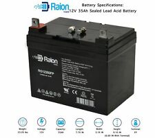 Raion Power 12V 35Ah Lawn Mower Battery For Great Dane Walk-Behind