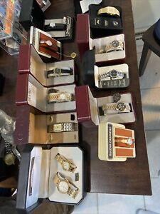 12 Vintage  Watch  BulovaGeneva Belair Elgin Caravelle All New L@@k !!!