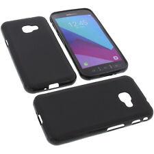 Étui pour Samsung Galaxy Xcover 4 Coque Protectrice Téléphone Portable TPU Noir