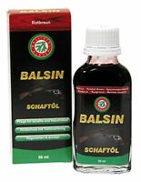 (83,8€/L) Ballistol Flasche Balsin Schaft Öl, Rot/Braun, 50 ml, 23060 !