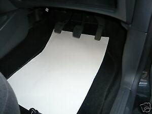 ECONOMY DISPOSABLE CAR PAPER FLOOR MATS- 50, 100, 250, 500, 1000