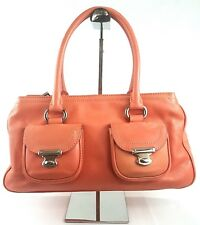 VINTAGE MARC JACOBS PINK HANDBAG LEATHER SATCHEL PURSE MADE IN ITALY SHOULDER