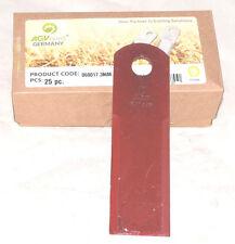 Schlegelmesser Strohhäckslermesser glatt 3mm Claas 060017  BISO 2814    VE 25 St