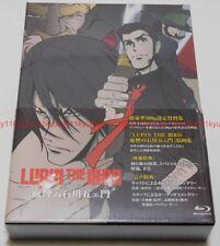 Lupin the IIIrd Chikemuri no Ishikawa Goemon Limited Edition Blu-ray Book Japan